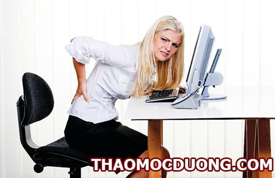 Căng thẳng quá mức tại nơi làm việc nguyên nhân của bệnh đau lưng 1
