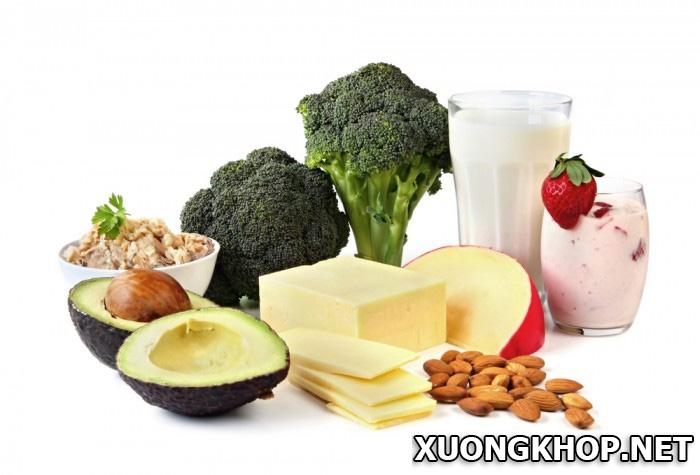 Bị gai cột sống có nên uống canxi không? Thực phẩm nào có nhiều canxi? 1