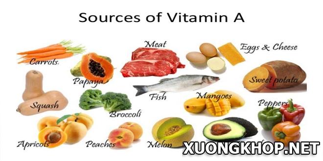 Thoái hóa cột sống thắt lưng nên ăn gì? 5 loại vitamin cần tăng cường bổ sung